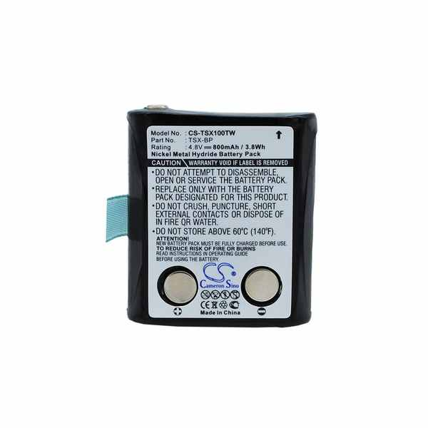 Replacement Battery For TriSquare TSX-BP TSX100 TSX300