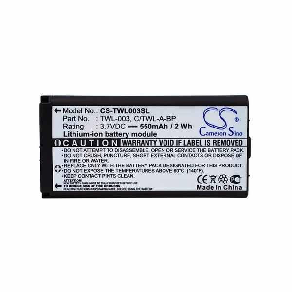 Replacement Battery Batteries For NINTENDO C-TWL A BP CS TWL003SL