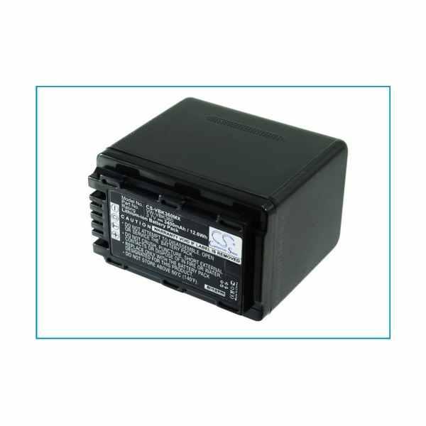 Replacement Battery Batteries For PANASONIC SDR S50K CS VBK360MX