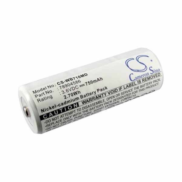 Replacement Battery For Keeler 1919-P-5020 MEDIC LUX VISTA 200 HANDLE