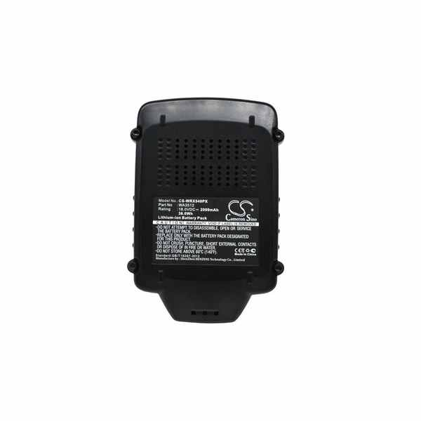 Replacement Battery Batteries For WORX RW9161 CS WRX540PX