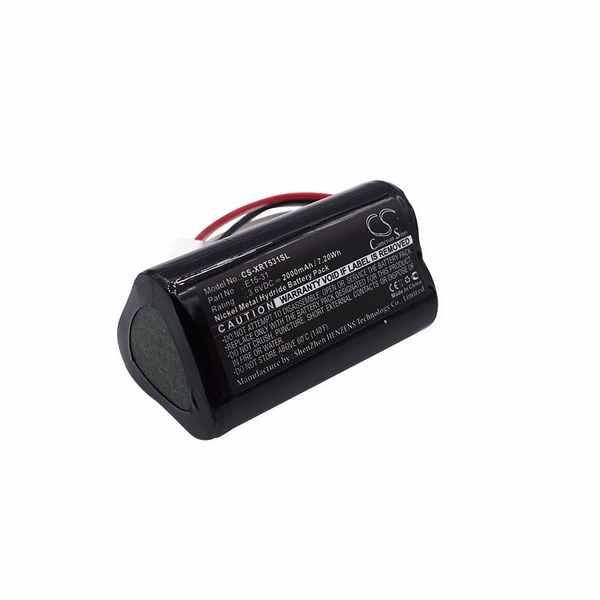 Replacement Battery Batteries For X RITE E15 31 CS XRT531SL