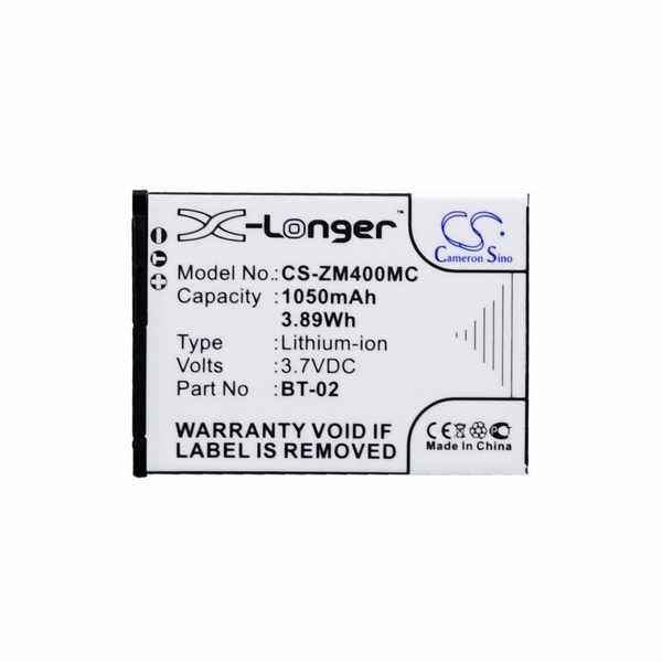 Replacement Battery Batteries For ZOOM 247 9036 CS ZM400MC
