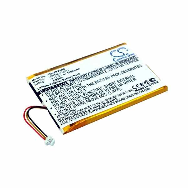 Replacement Battery For Zipit ZWM2-1230LI Wireless Messenger Z2 Z2a
