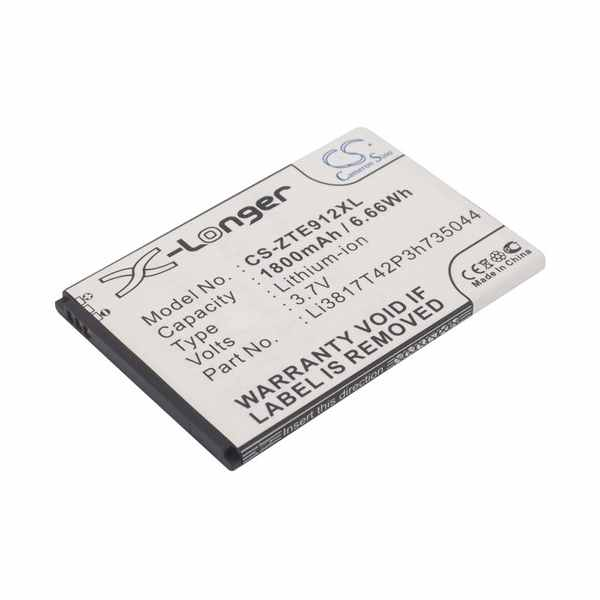 Replacement Battery For ZTE Aurora